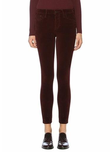 Joe's Jeans Jean Pantolon Bordo